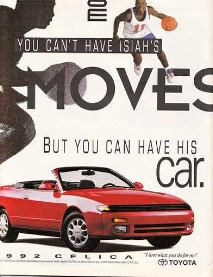Car ads 1990s
