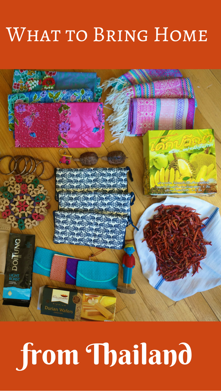 What to bring from Thailand