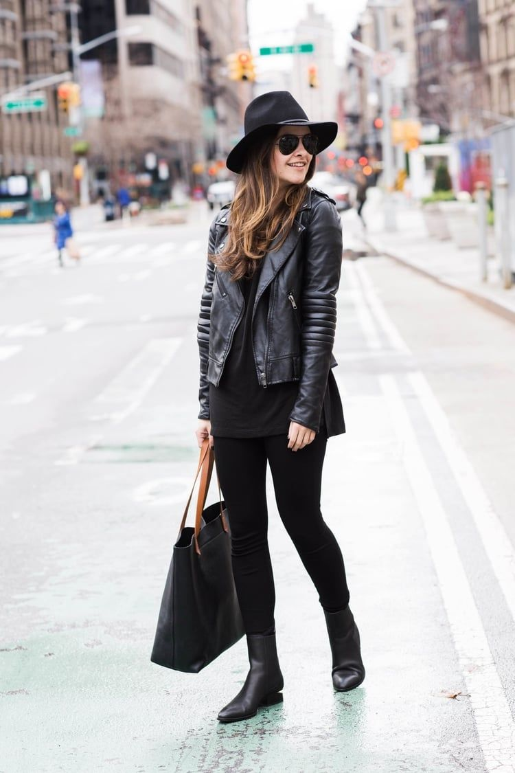 All Black New York City Uniform -   24 new york outfits