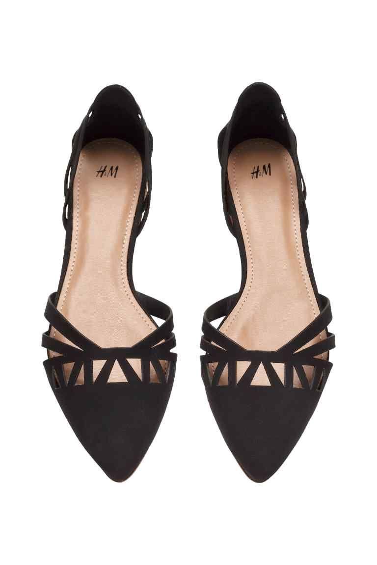 negozio online 415c6 939a7 Bailarinas | H&M | zapatos bajos | Scarpe chanel, Scarpe ...