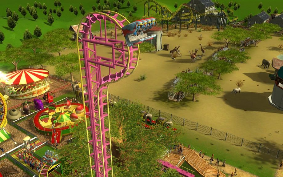 Rollercoaster Tycoon 3 - Deluxe [Game Download] for PC - Buy now