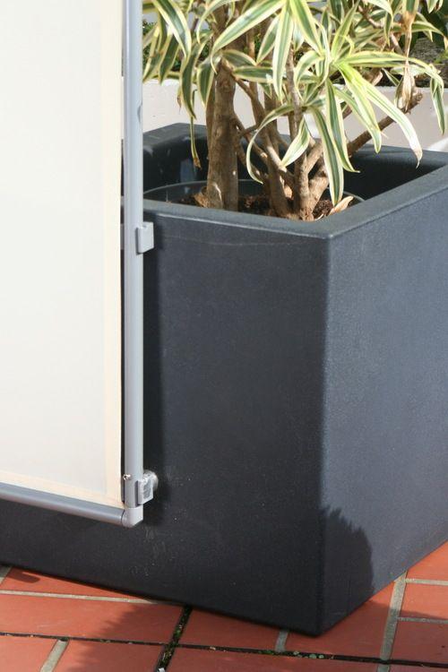 Mobile Sichtschutz Paravents stabile Stellwände für
