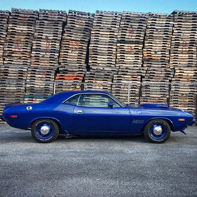 Gorgeous 74 Challenger Started Out As A 318 Carand After Rotisserie Style Restoration Ended Up Being An Amazing T Tribute Car Powered By 440 Six