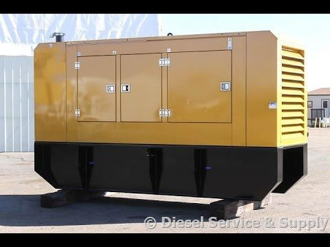 New Video 150 Kw Olympian Diesel Generator Video Shows Like New 150 Kw Olympian Standby Diesel Generator Being Container Shop Diesel Generators Locker Storage