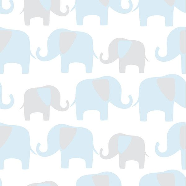 Elephant Parade Peel-and-Stick Wallpaper ($130) ❤ liked on Polyvore featuring home, home decor, wallpaper, elephant home accessories, elephant home decor, pattern wallpaper, peelable vinyl wallpaper and vinyl wallpaper