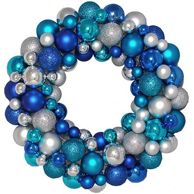 """16"""" blue, teal and silver"""