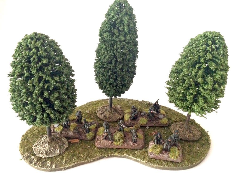 Wargame Terrain Woods #33 (med) Kings of War, 40K, FoW,