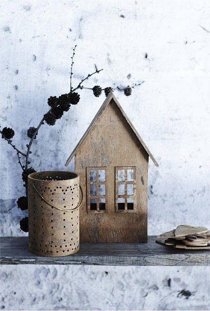 Decoratie: Decoratie huisjes.   http://anoukdekker.nl/decoratie-huisjes/