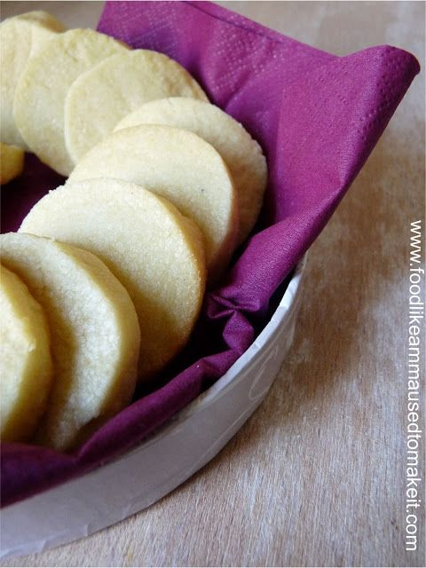 Shortbread Biscuit Recipe - Food like Amma used to make it ...