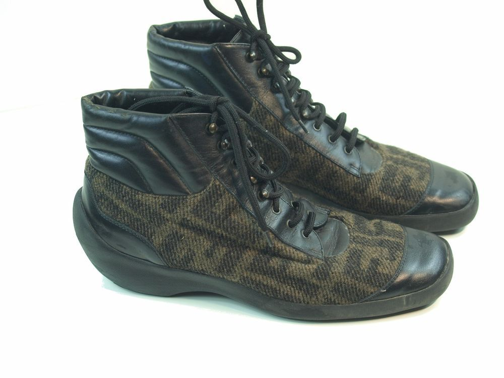 ae698b73 Details about NEW UGG Leather High Top Sneakers Shoes HOYT ...