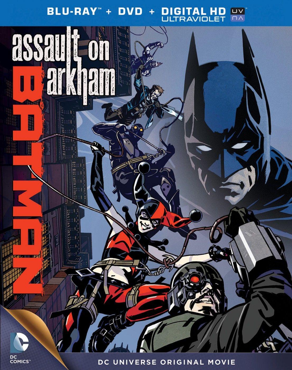 Batman assault on arkham language english genre