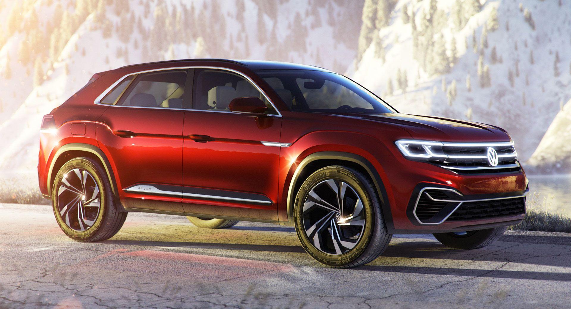VW Atlas Cross Sport Concept Is The People's BMW X6