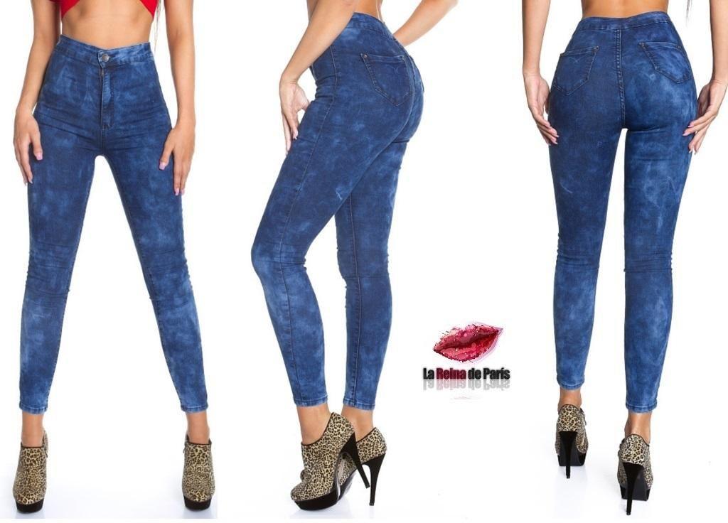 pantalones jeans talle alto - Buscar con Google  a51a0621523a