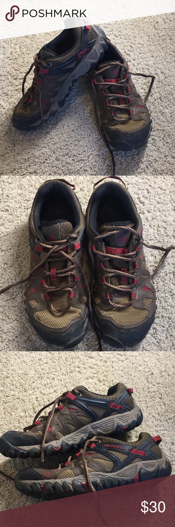 a717e53f13e Merrill women's hikers Merrill women's hiking shoes gently used ...