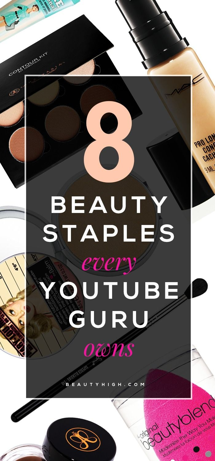 8 Beauty Staples Every YouTube GuruOwns images