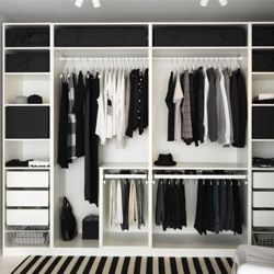 pax syst me armoires et dressing home sweet home en 2019 pinterest dressing chambre. Black Bedroom Furniture Sets. Home Design Ideas