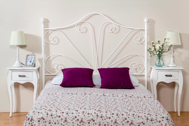 Resultado de imagen para modelos de camas de madera color for Camas blancas de madera