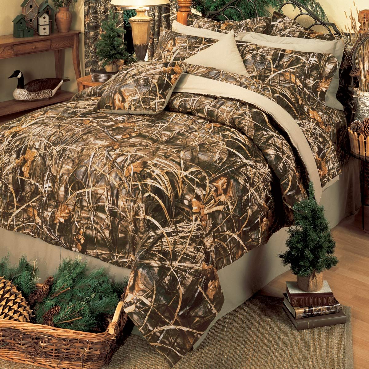 Max 32 Comforter Set King   Camo comforter sets, Camo bedding, Camo ...