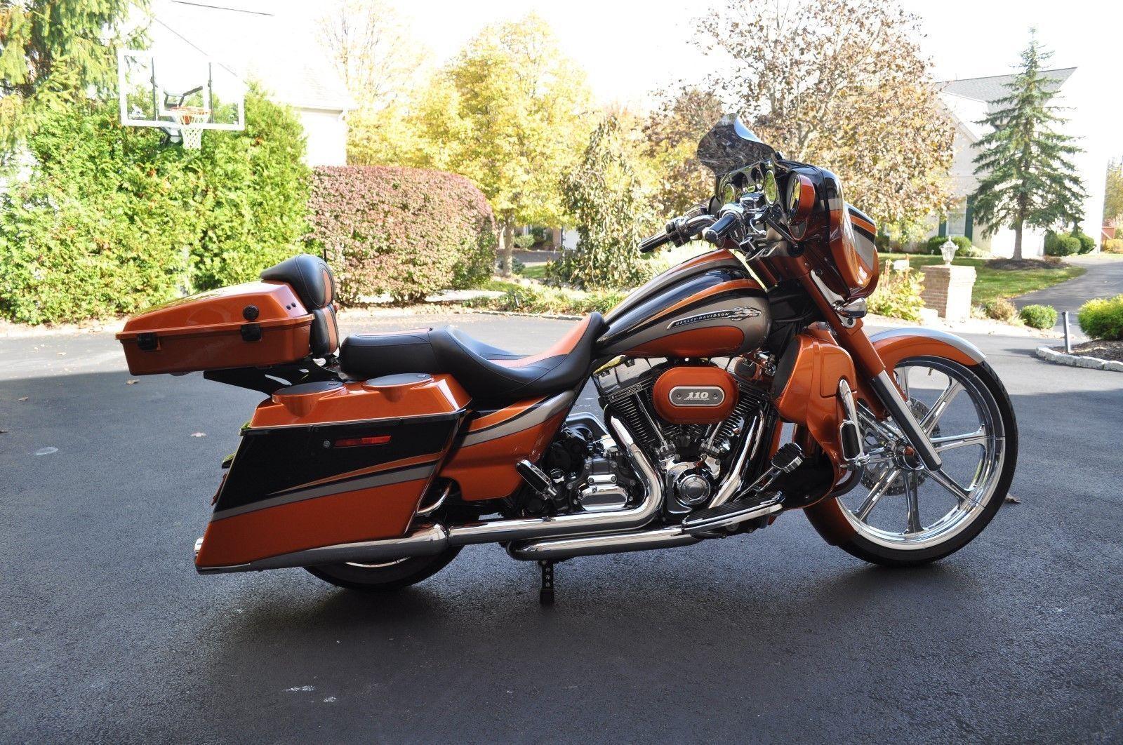 eBay: Harley-Davidson Touring Harley-Davidson CVO Street Glide ...