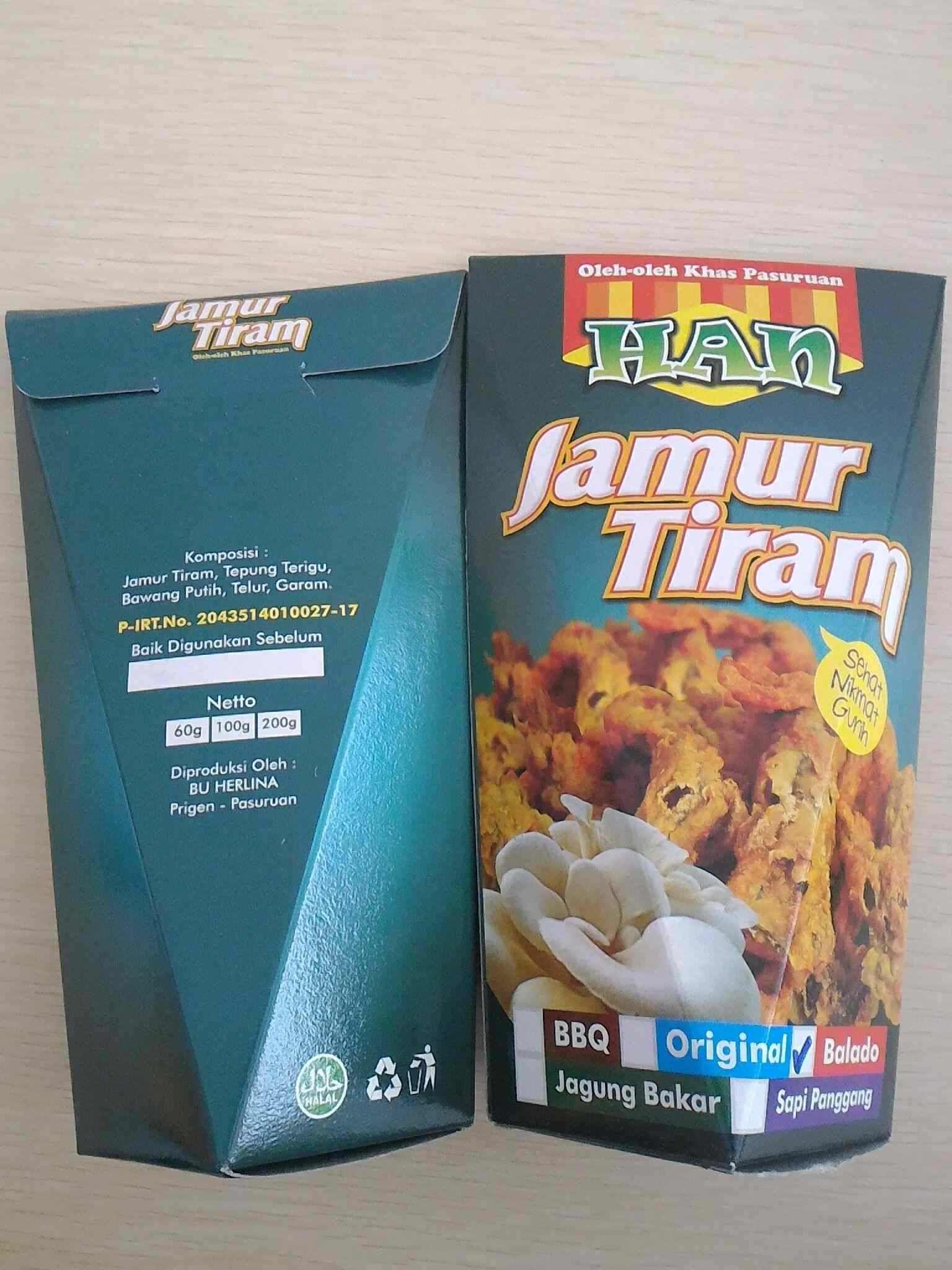 Jual Keripik Jamur Tiram Kang One Kuping Produk Ukm Bumn Kripik Kripixx Jamoer Surabaya Han