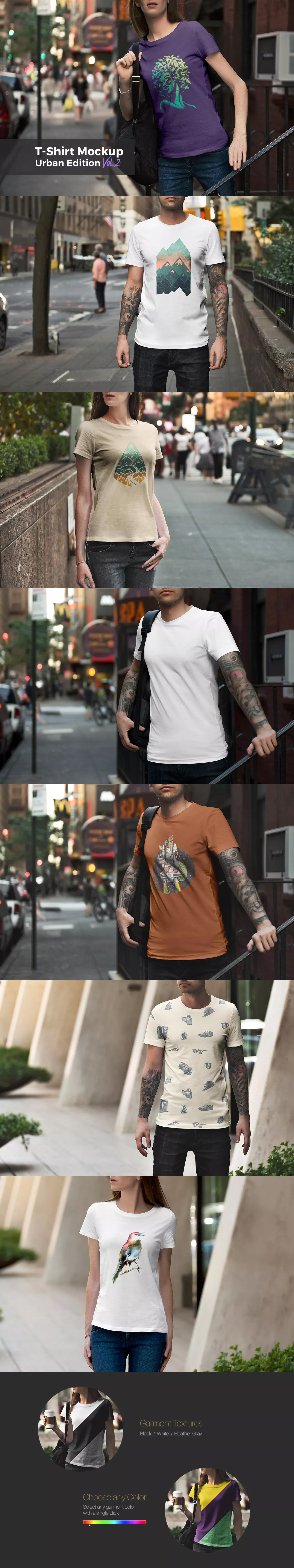 Download T Shirt Mockup Urban Edition Vol 2 By Genetic96 On Envato Elements Shirt Mockup Tshirt Mockup Mockup