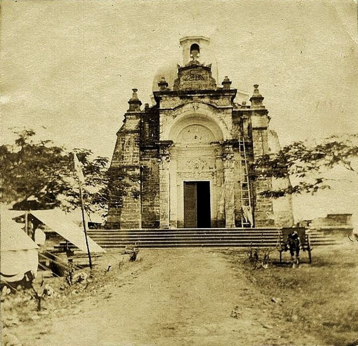 1898 snap of Laloma cemetery (ctto) Philippine