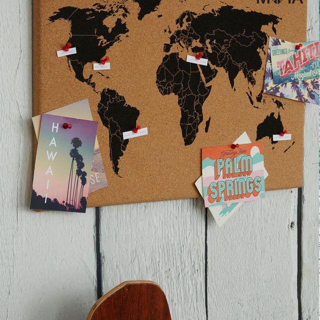 World map cork board wishopoly diy ideas pinterest cork world map cork board wishopoly gumiabroncs Gallery