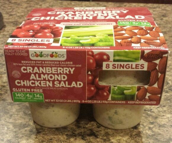 Good Foods Cranberry Almond Chicken Salad I Found This At Costco