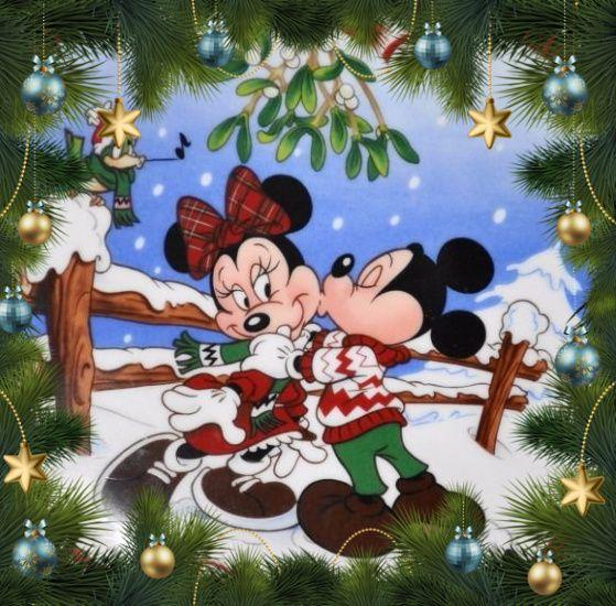 christmas disney mickey minnie mouse christmas disney pinterest weihnachten. Black Bedroom Furniture Sets. Home Design Ideas