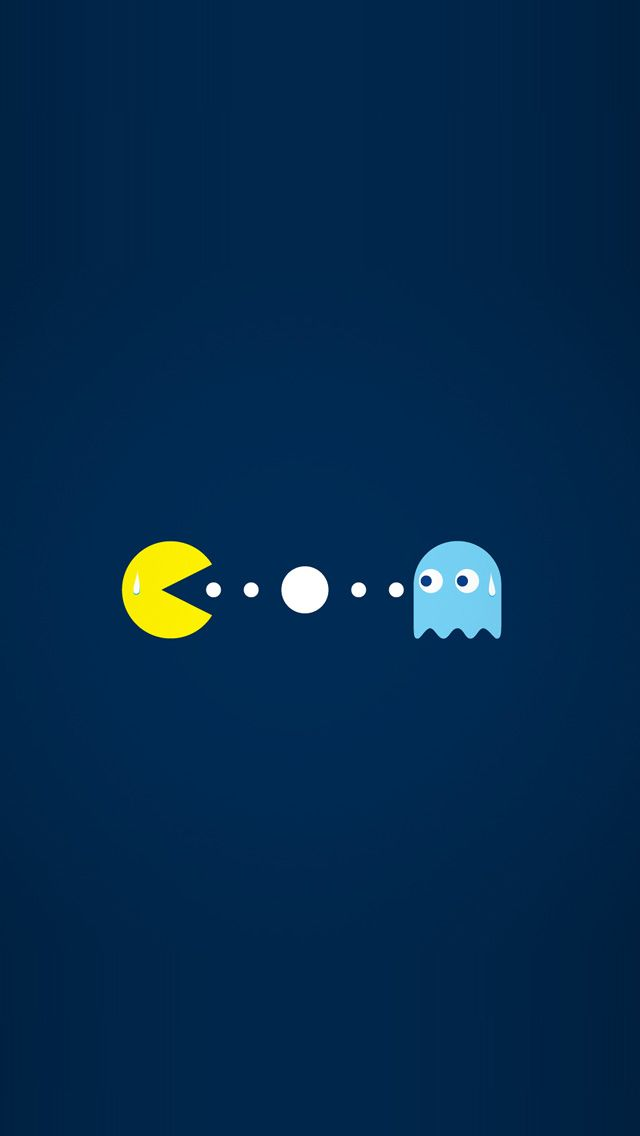 Pacman Iphone 5 Wallpaper Iphone Wallpaper Themes Iphone