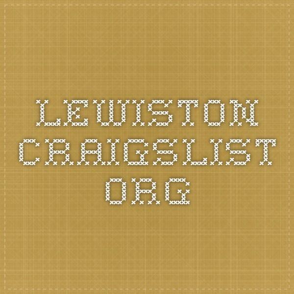 Lewiston craiglist