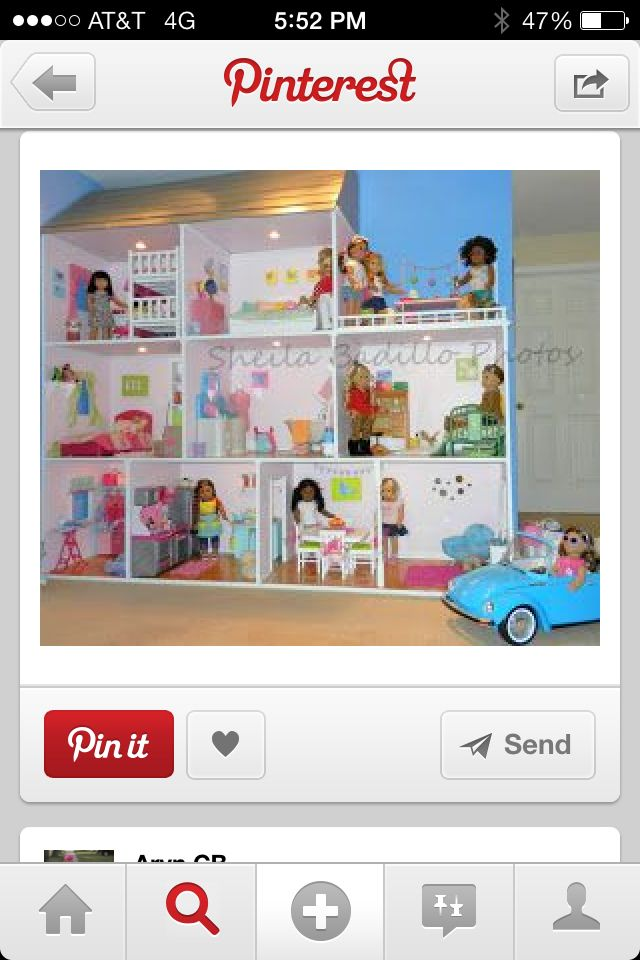 Oh my goodness The biggest doll house EVER