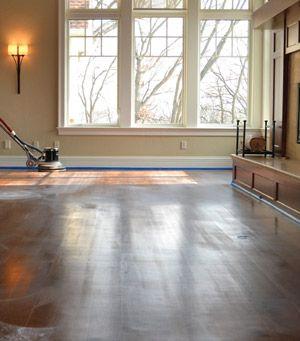 Hardwood Floor Buffing the The Pros Teach Their Technique For Buffing Hardwood Floors Without Leaving Swirls
