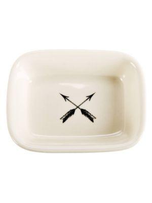 CROSSED ARROWS SOAP DISH