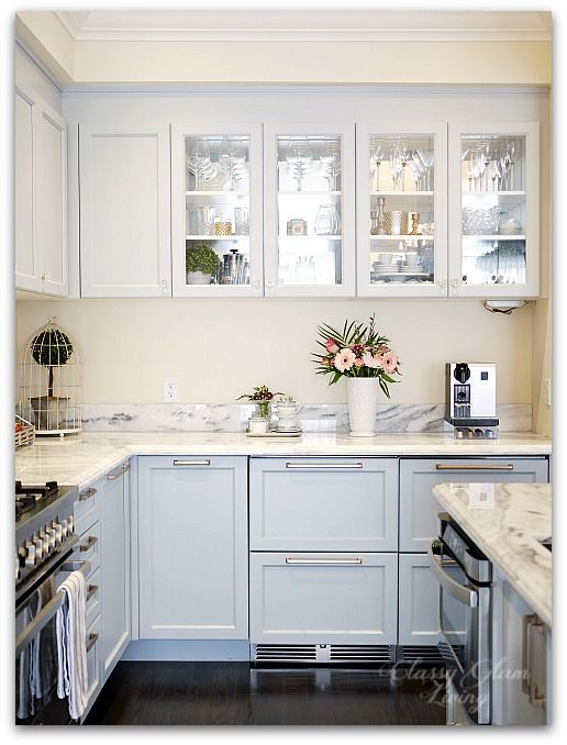 Mirrors The Luxe Factor In A Kitchen Kitchen Plans Kitchen