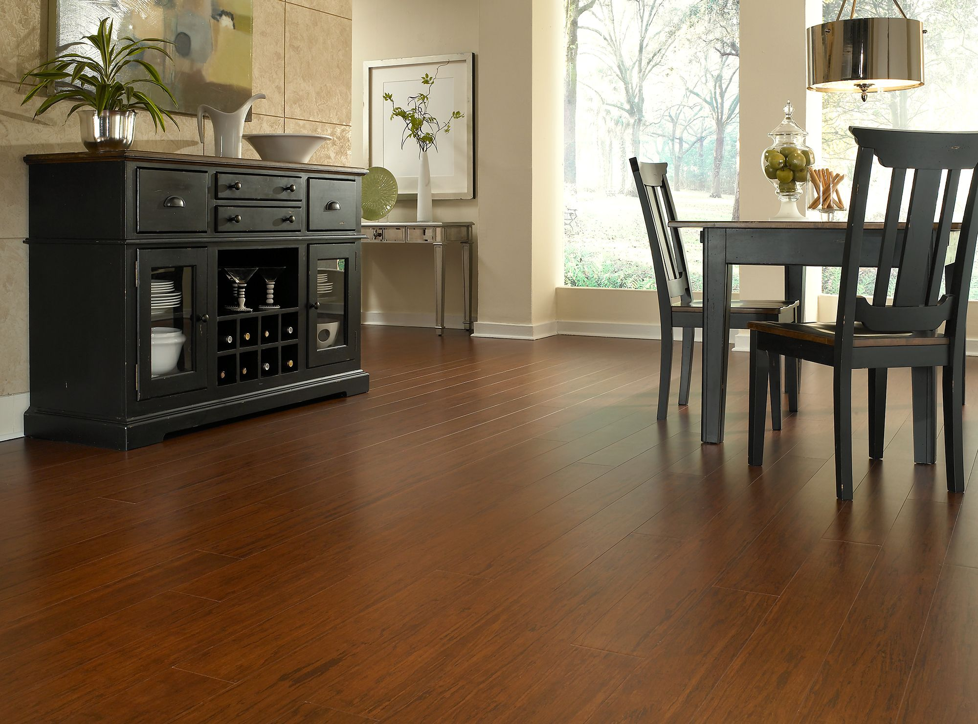 Spotlight Is On The Natural Bamboo Flooring By Us Floors Which Provide Lasting Durability In All Areas Of Your Home Bamboo Hardwood Flooring Flooring Home Decor Kitchen
