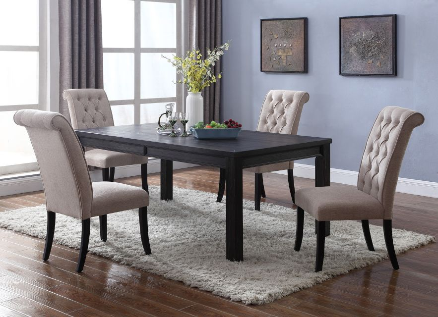 This Rustic Style Rustic Dining Set Is A Wonderful Addition To Any Home.  The Wood