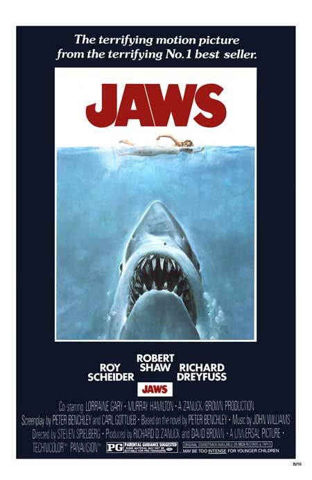 #classic #jaws #movie #poster #deal