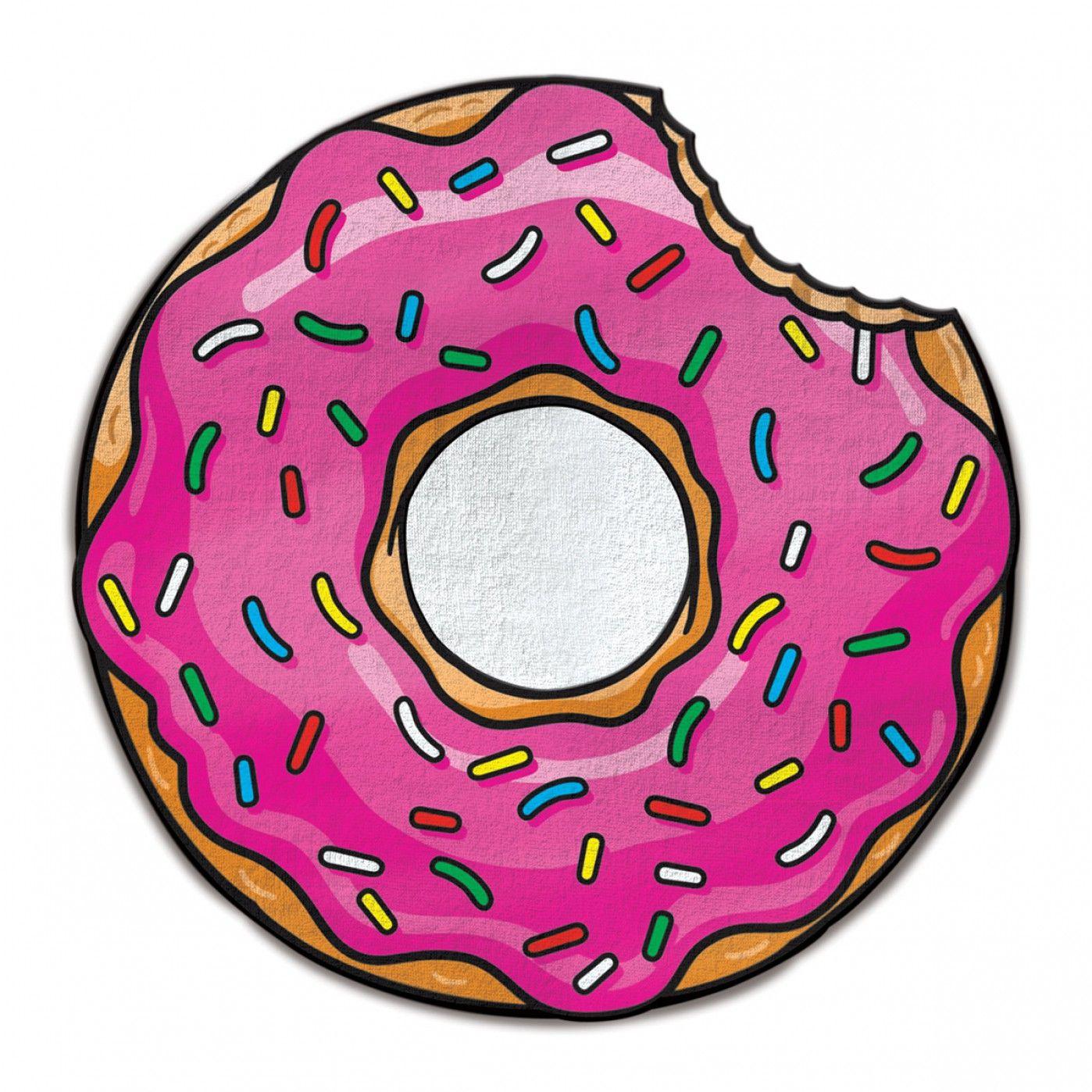 Donut badhanddoek  Tekenen  Slaapkamer tekenen
