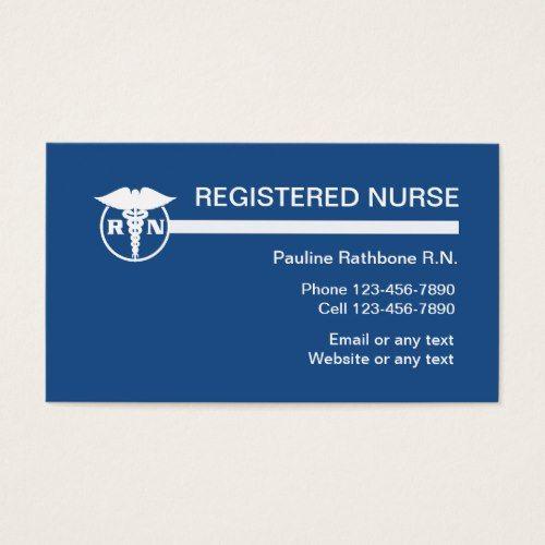 Registered nurse business cards nurses aide pinterest registered nurse business cards colourmoves