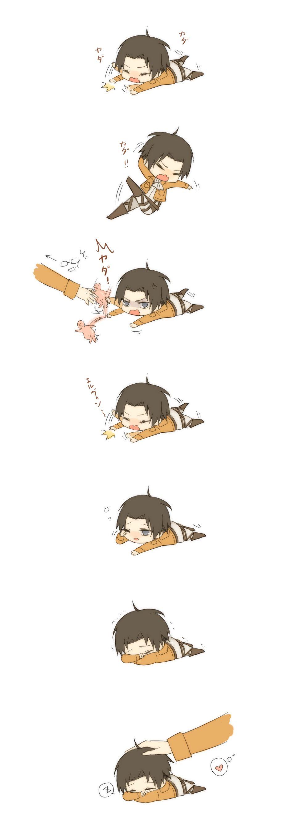Melting A Frozen Heart ~ Levi Ackerman x OC ~ Attack on Titan/Shingeki no Kyojin - Chapter 5: It's All Okay Now