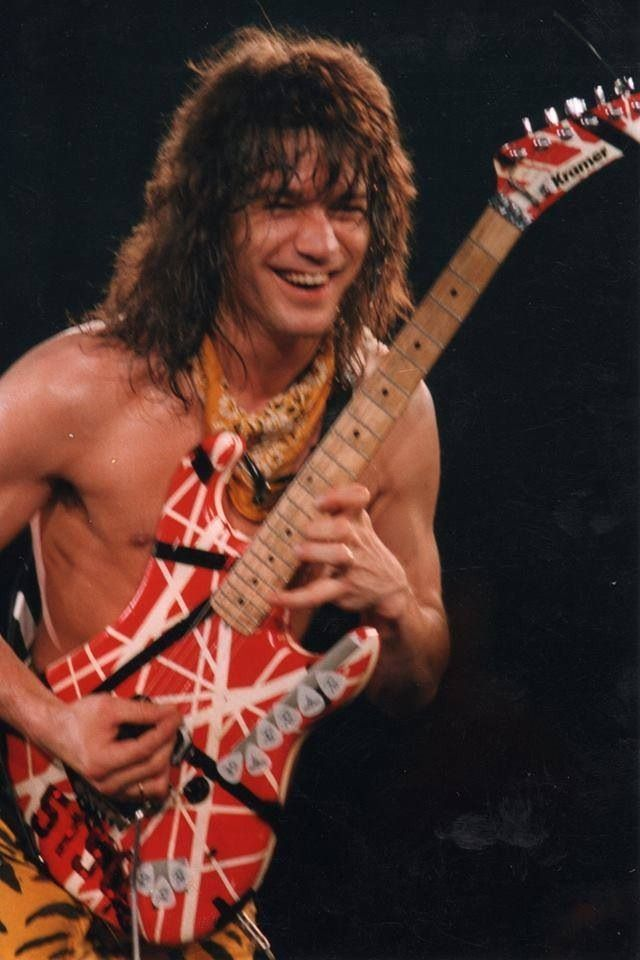 mp2cdk73 — Happy Birthday Eddie Van Halen! January 26, 1955.