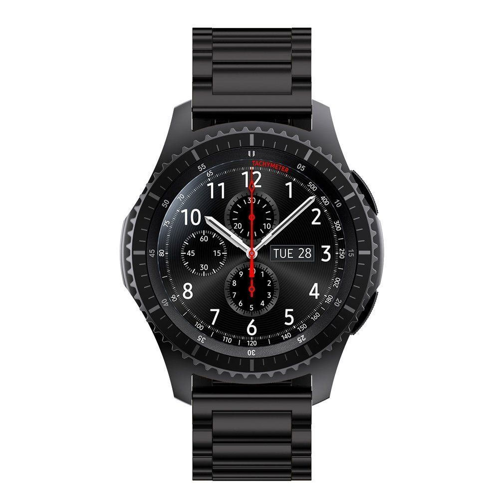 Gear S3 Classic Band Gear S3 Frontier Band Oitom Premium Solid Stainless Steel Watch Band Link Bracelet Stra Stainless Steel Band Classic Watches Watch Bands