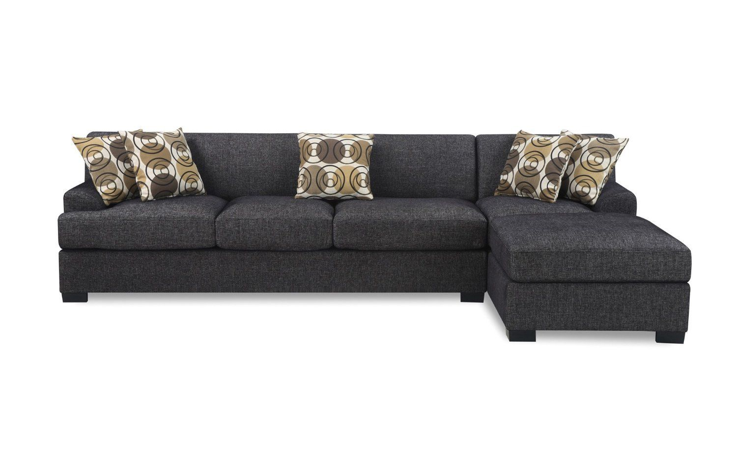 Signature Design By Ashley Driskell Mocha 2 Piece Sectional At Big