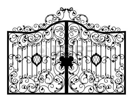 portail fer forg233 porte ferrage d233tail de larchitecture