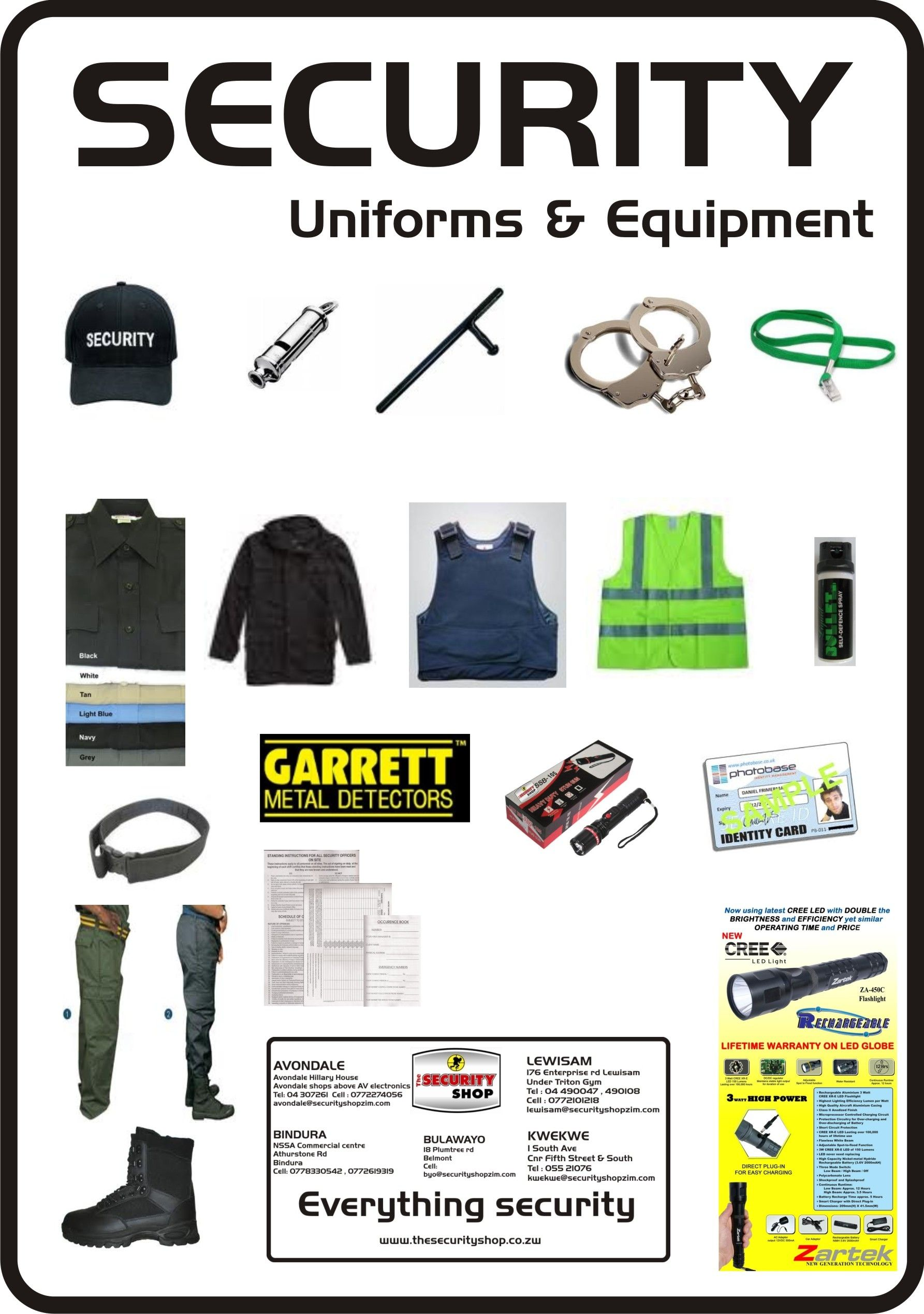 Image result for diy security guard uniform with images