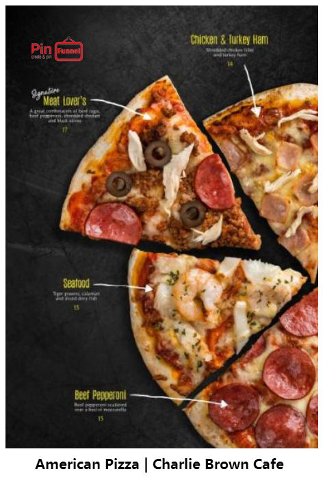 American Pizza Promotion For Christmas Dinner Offer 2017 At Charlie Brown Cafe Cineleisure Orchard Singapore New Charlie Brown Cafe Turkey Ham Pizza Special