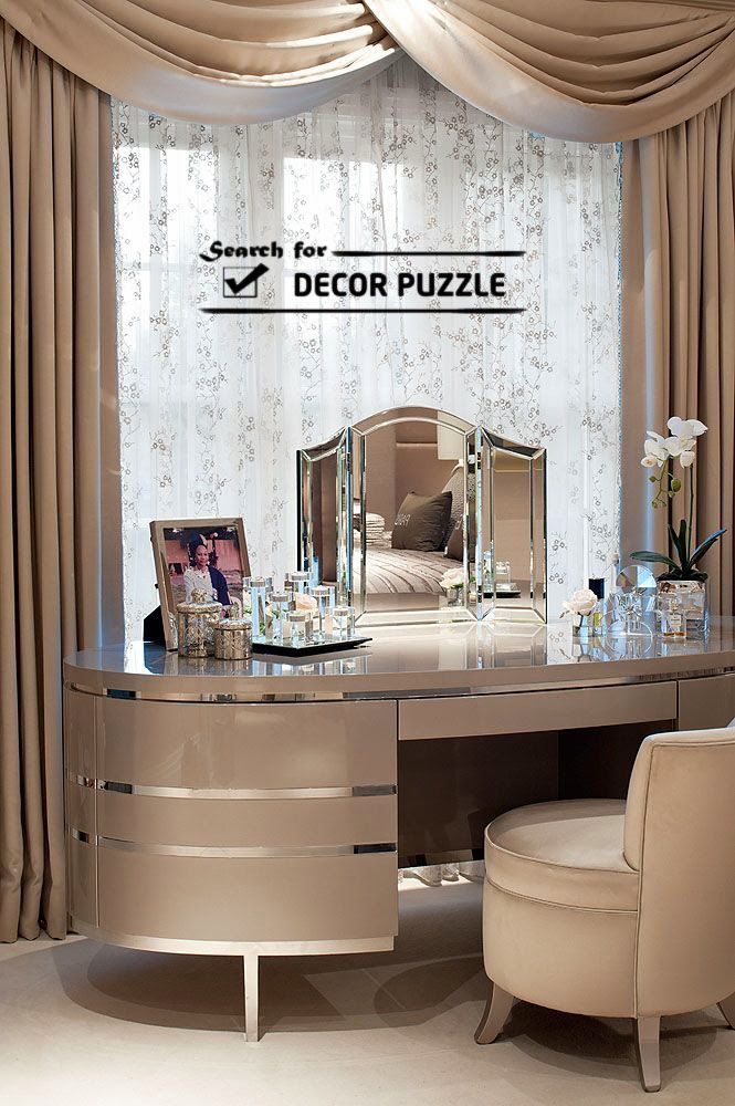 Modern Dressing Table Designs Ideas With Mirror For Luxury Bedroom