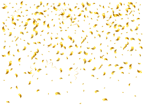 Confetti Transparent Clip Art Png Image Gold Background Fireworks Background Confetti Background