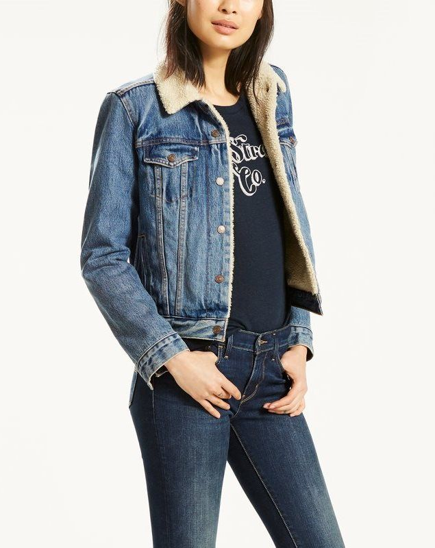 Veste jeans femme originale